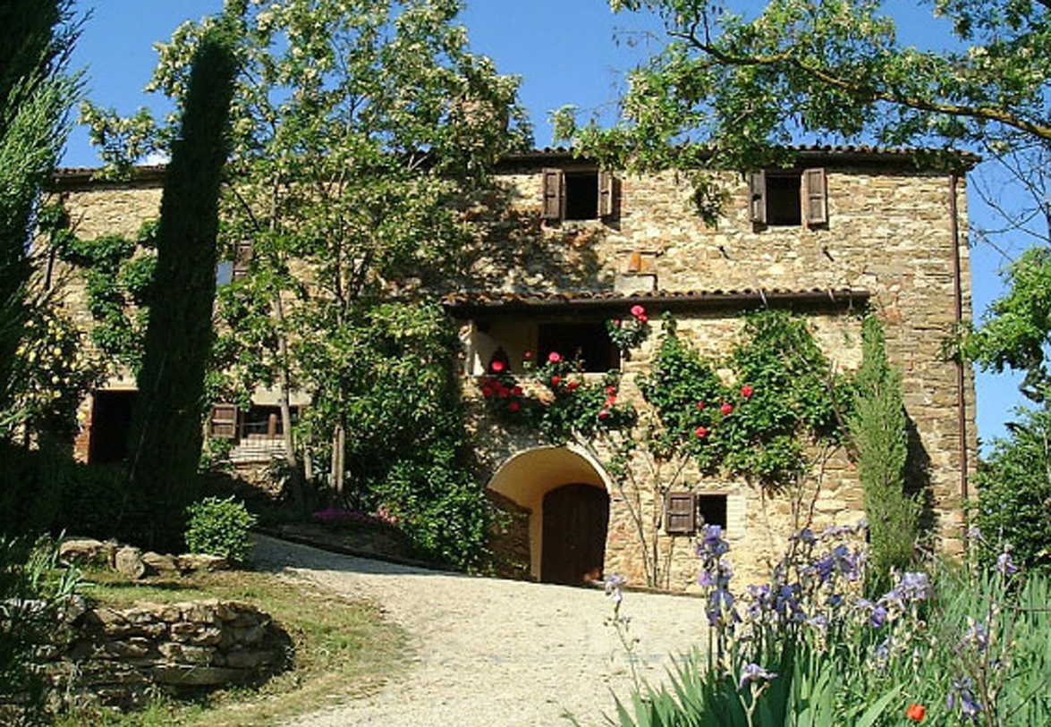 arrival at casa fontemaggio